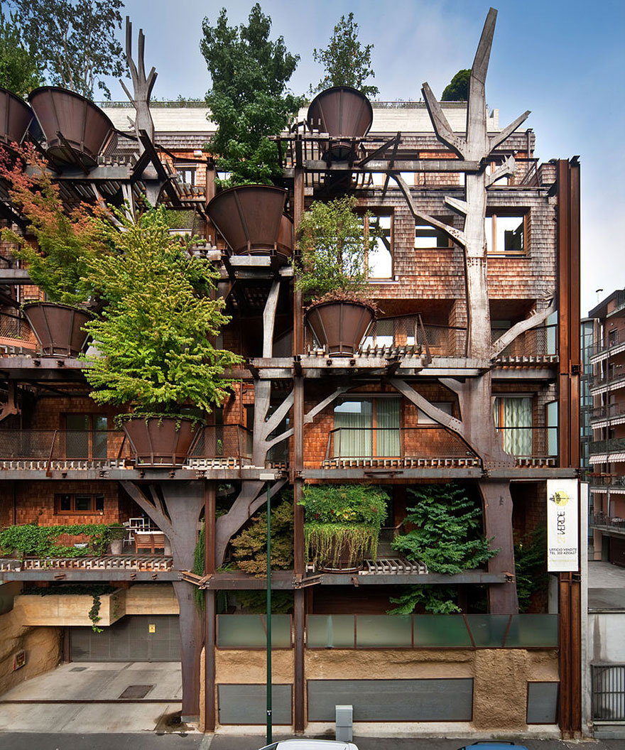 Treehouse by Luciano Pia