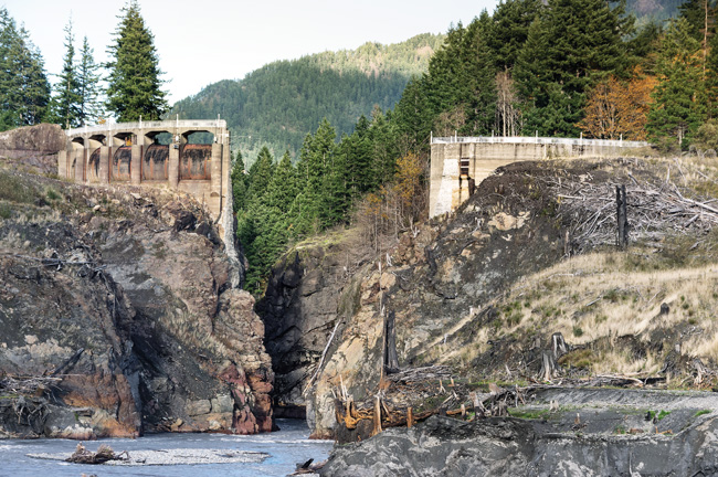 Glines Canyon Dam on Upper Elsha River | James Wengler