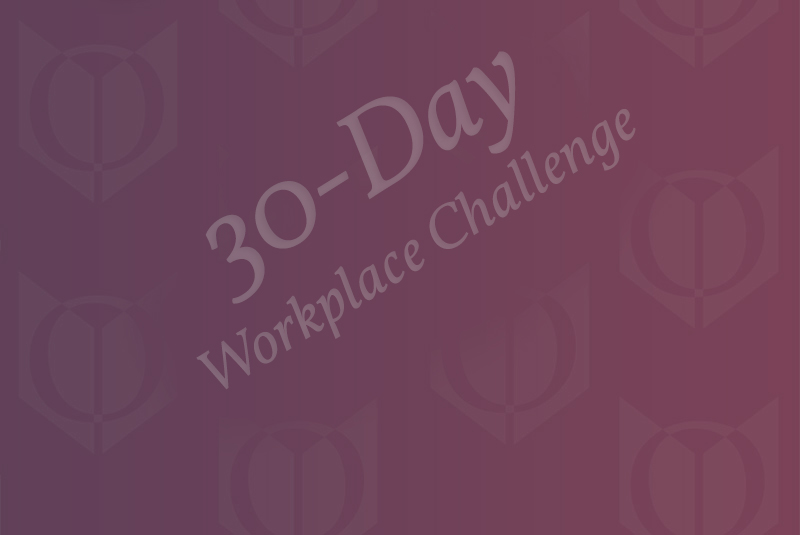 30-day workplace challenge